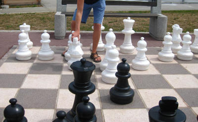 Play Giant Chess Fitzgerald Georgia